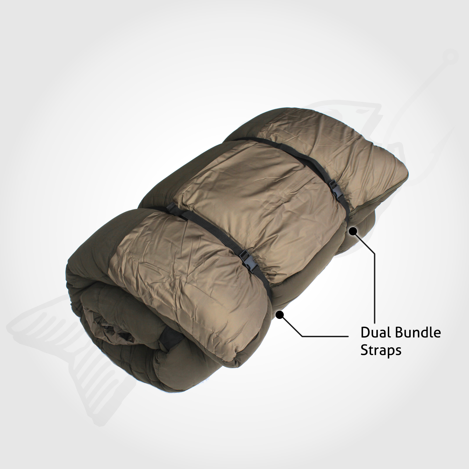 5 In 1 Double Outdoor Camping Sleeping Bag Thermal Winter Twin 15C XL