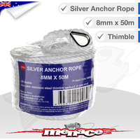 Marine Anchor Rope Braided 8mm x 50m