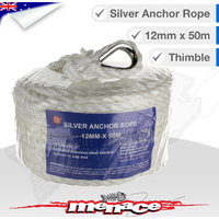 Marine Anchor Rope Braided 12mm x 50m