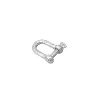 8mm Galvanised D-Shackle