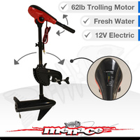 12v Electric Outboard Trolling Motor 62lb - Fresh Water