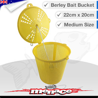 Berley Bucket Bait Pot - Yellow