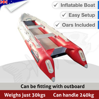 Inflatable Boat - Narrow Dingy Kayak Style