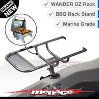 Wander Oz Portable 316 Marine BBQ Holder Stand Rack