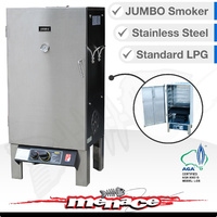 WANDER OZ LPG Stainless Steel Wood Smoker - JUMBO