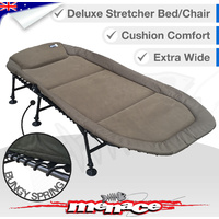 Deluxe Folding Stretcher Bed Chair - EXTRA WIDE