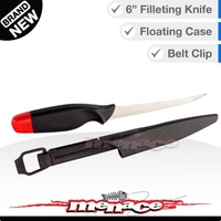 6 inch Fish Filleting Knife with Floating Case