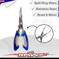Stainless Steel Fishing Split Ring Braid Pliers
