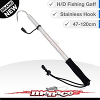 Telescopic Fishing Gaff Marine Grade Stainless Steel Hook [square]