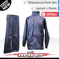 2pc Waterproof Rain Jacket and Pants
