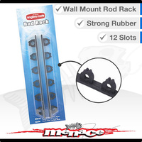 Wall Mount Rod Rack Holders