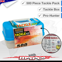 500 Piece Fishing Tackle Pack Box
