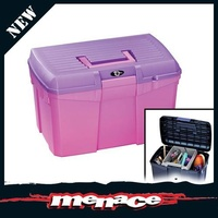 Tack Box - Pets / Grooming Tool - Pink Purple Equestrian