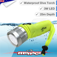 25m Waterproof Dive Torch CREE LED
