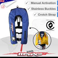 Inflatable Life Jacket PFD1 Level 150 - Blue