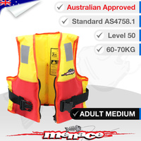 Hercules PFD2 Foam Life Jacket - Adult Medium (Type 2 Level 50)