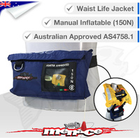 Inflatable Life Jacket PFD1 Level 150 - Waist Belt