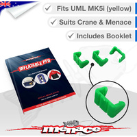 Menace / Crane Life Jacket Service Green Clip