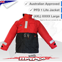 All Weather Storm Life Jacket PFD1 - 4XL - XXXX Large