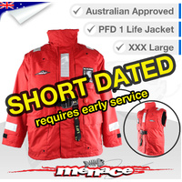 Premium All Weather Life Jacket Level 150 Type 1 - 3XL Large