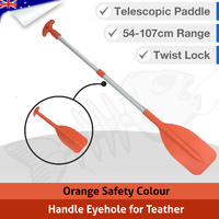 Telescopic Kayak Boat Safety Hi Vis Paddle / Oar