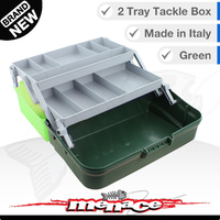 Panaro Premium Tackle Box - Two Trays - Green