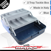 Panaro Premium Tackle Box - Two Trays - Blue