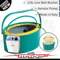 3.5L Live Bait Bucket with Aerator Pump