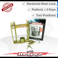 Trailer Tow Ball Lock ON/OFF with padlock