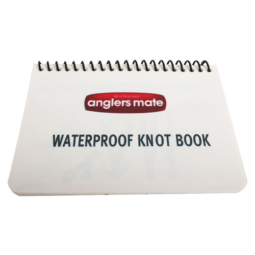 Waterproof Fishing Knot Book