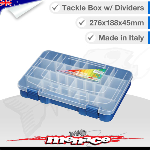 Premium Tackle Box - Removable Dividers - Kamaleont Series ART 195