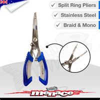 Stainless Steel Fishing Split Ring Braid Pliers