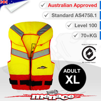 Level 100 Triton PFD Type 1 Foam Life Jacket - Adult XL