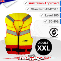 Level 100 Triton PFD Type 1 Foam Life Jacket - Adult XXL