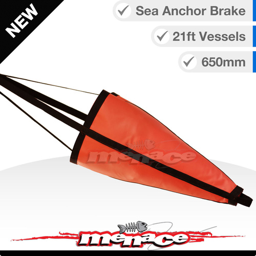 MEDIUM SEA DRIFT ANCHOR 650mm Anchor Brake Drogue